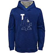 Majestic Youth Los Angeles Dodgers Battle Pullover Hoodie