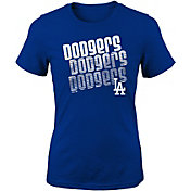 Majestic Youth Girls' Los Angeles Dodgers 3-Peat T-Shirt