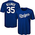 Majestic Youth Los Angeles Dodgers Cody Bellinger #35 Performance T-Shirt
