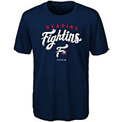 Majestic Youth Reading Fightin Phils Navy T-Shirt