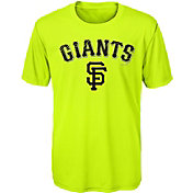 Majestic Youth San Francisco Giants Glowing Game Neon T-Shirt