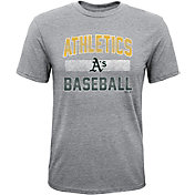 Majestic Youth Oakland Athletics Hall-of-Fame Tri-Blend T-Shirt