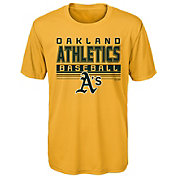 Majestic Youth Oakland Athletics Dri-Tek Digital Score T-Shirt