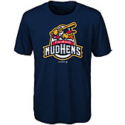 Majestic Youth Toledo Mud Hens Navy T-Shirt