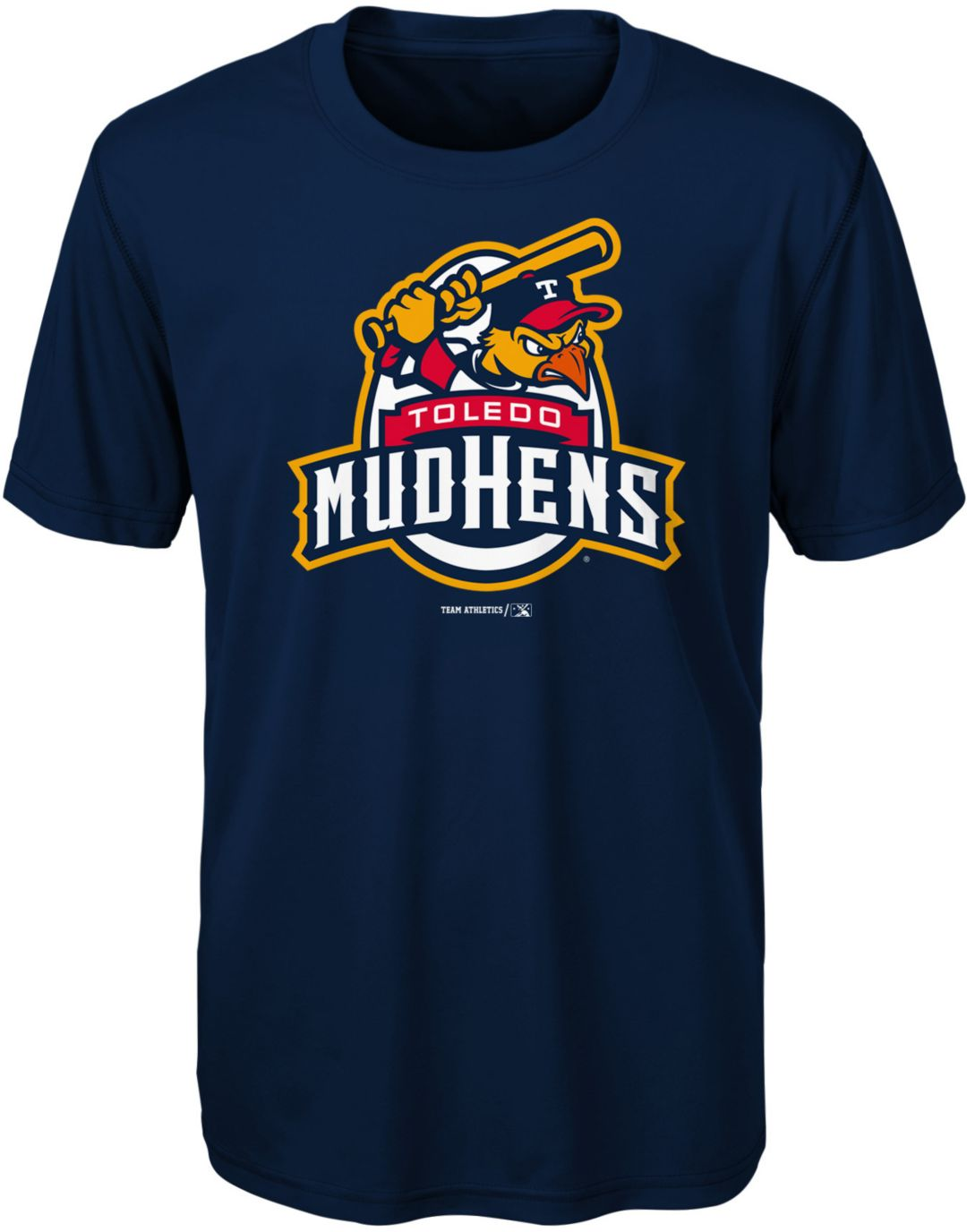 Majestic Youth Toledo Mud Hens Navy T-Shirt
