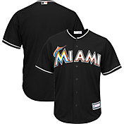 Youth Replica Miami Marlins Alternate Black Jersey