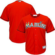 Youth Replica Miami Marlins Alternate Orange Jersey