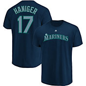 Majestic Youth Seattle Mariners Mitch Haniger #17 Navy T-Shirt