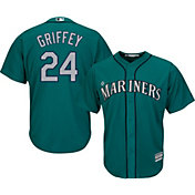 Product Image · Majestic Men s Replica Seattle Mariners Ken Griffey Jr.  24  Cool Base Alternate Teal Jersey 39a0d1d87467