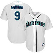Youth Replica Seattle Mariners Dee Gordon #9 Home White Jersey