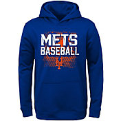 Majestic Youth New York Mets Royal Hoodie
