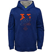 Majestic Youth New York Mets Battle Pullover Hoodie