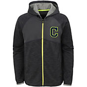 Majestic Youth Cleveland Indians Victor Full-Zip Hoodie