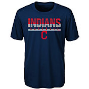 Majestic Youth Cleveland Indians Dri-Tek Wild Card T-Shirt