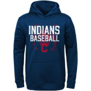 Majestic Youth Cleveland Indians Navy Hoodie