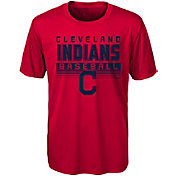 Majestic Youth Cleveland Indians Dri-Tek Digital Score T-Shirt