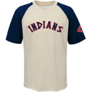 Majestic Youth Cleveland Indians Game Tradition V-Neck Shirt