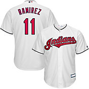 Youth Replica Cleveland Indians Jose Ramirez #11 Home White Jersey