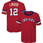 Majestic Youth Cleveland Indians Francisco Lindor T-Shirt