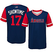 "Majestic Youth Los Angeles Angels Shohei Ohtani ""Showtime"" MLB Players Weekend Jersey Top"