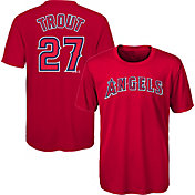 Majestic Youth Los Angeles Angels Mike Trout #27 Performance T-Shirt
