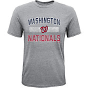 Majestic Youth Washington Nationals Hall-of-Fame Tri-Blend T-Shirt