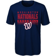 Majestic Youth Washington Nationals Dri-Tek Digital Score T-Shirt