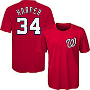 Majestic Youth Washington Nationals Bryce Harper #34 Performance T-Shirt