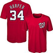 Majestic Youth Washington Nationals Bryce Harper #34 Performance T-Shirt