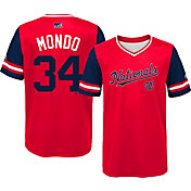 "Majestic Youth Washington Nationals Bryce Harper ""Mondo"" MLB Players Weekend Jersey Top"