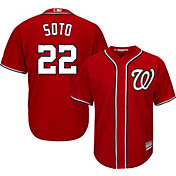 Youth Replica Washington Nationals Juan Soto #22 Alternate Red Jersey