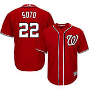 2135cf78e Youth Replica Washington Nationals Juan Soto  22 Home White Jersey ...
