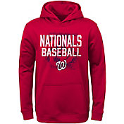 Majestic Youth Washington Nationals Red Hoodie