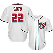Youth Replica Washington Nationals Juan Soto #22 Home White Jersey