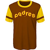 Majestic Youth San Diego Padres Brown Performance T-Shirt