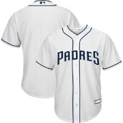 Youth Replica San Diego Padres Home White Jersey