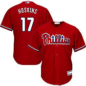 Youth Replica Philadelphia Phillies Rhys Hoskins #17 Alternate Red Jersey