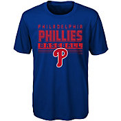 Majestic Youth Philadelphia Phillies Dri-Tek Digital Score T-Shirt