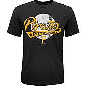 Majestic Youth Pittsburgh Pirates Flagship Tri-Blend T-Shirt