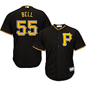 Youth Replica Pittsburgh Pirates Josh Bell #55 Alternate Black Jersey