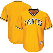 Majestic Youth Replica Pittsburgh Pirates Josh Bell #55 Cool Base Alternate Gold Jersey