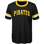 Majestic Youth Pittsburgh Pirates Black Performance T-Shirt