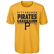 Majestic Youth Pittsburgh Pirates Dri-Tek Digital Score T-Shirt