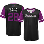 "Majestic Youth Colorado Rockies Nolan Arenado ""Nado"" MLB Players Weekend Jersey Top"