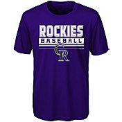Majestic Youth Colorado Rockies Dri-Tek Digital Score T-Shirt