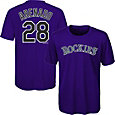 Majestic Youth Colorado Rockies Nolan Arenado #28 Performance T-Shirt