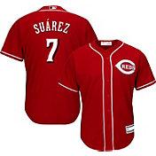 Youth Replica Cincinnati Reds Eugenio Suarez #7 Alternate Red Jersey