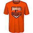Majestic Boys' Baltimore Orioles Dri-Tek Run Scored T-Shirt