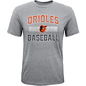 Majestic Youth Baltimore Orioles Hall-of-Fame Tri-Blend T-Shirt