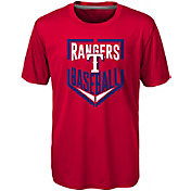 Majestic Boys' Texas Rangers Dri-Tek Run Scored T-Shirt